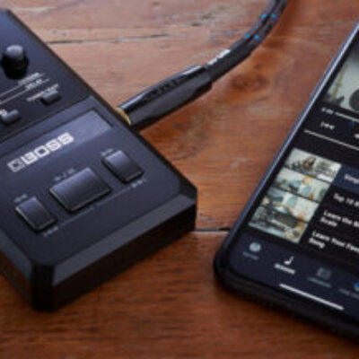 Boss Pocket GT, un multiefectos que se integra con YouTube