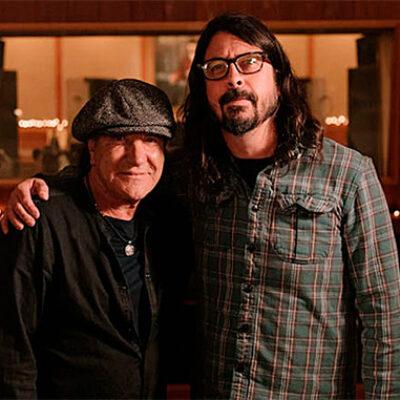 Brian Johnson anunció nuevo proyecto junto a Dave Grohl