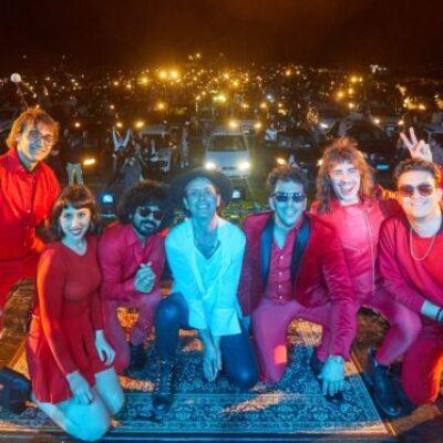 Coti brindó el Autoconcierto más grande de Argentina junto a Los Brillantes