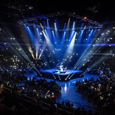 Uruguay tuvo su primer show internacional con público de la era Covid