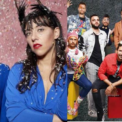 Shows Presenciales: Miranda!, Los Caligaris, Sol Pereyra, Vanthra y más.