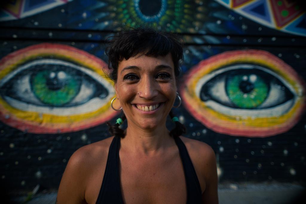 Mujer Sonriendo Sol Pereyra