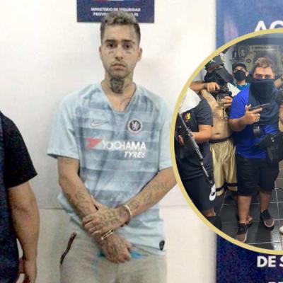 Cayó Zaramay: el trapero fue detenido en Rosario