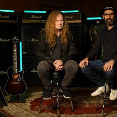 Dave Mustaine y Gibson se unen para fabricar una linea de guitarras