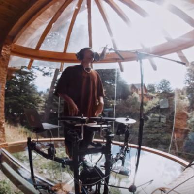 La casa donde Wos grabo su Live Set en la Patagonia Argentina