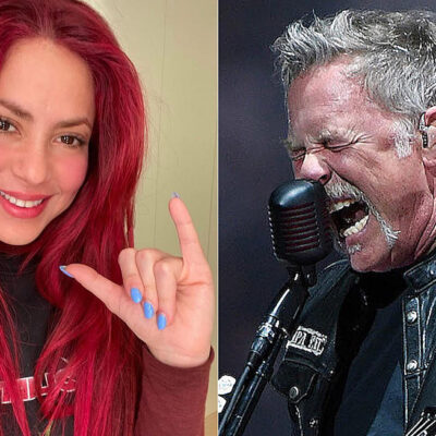 Shakira fan de Metallica. ¡Ya sabiamos!