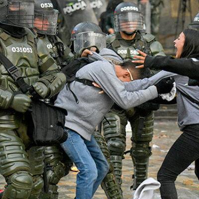 Colombia: Artistas de todo el mundo piden frenar la brutalidad policial.