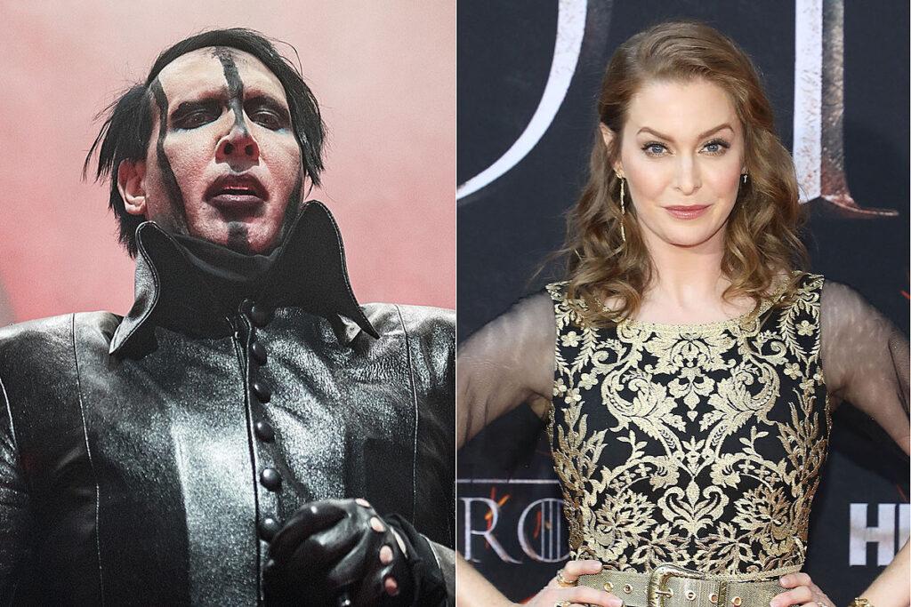 Marilyn Manson acusado de violación por una actriz de Game Of Thrones