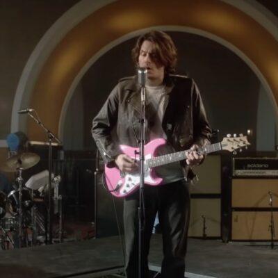 John Mayer vuelve a los 80 en el vídeo de 'Last Train Home', su nuevo single