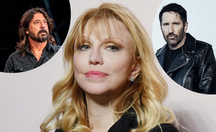Courtney Love acusa a Dave Grohl de hacerla firmar un contrato abusivo, y a Trent Reznor por abuso de menores