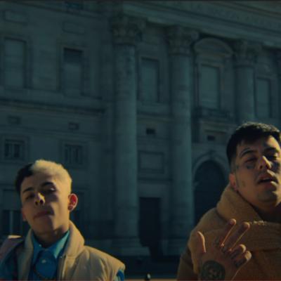 Trueno y Duki estrenaron «Panamá», con video grabado en el microcentro de Buenos Aires