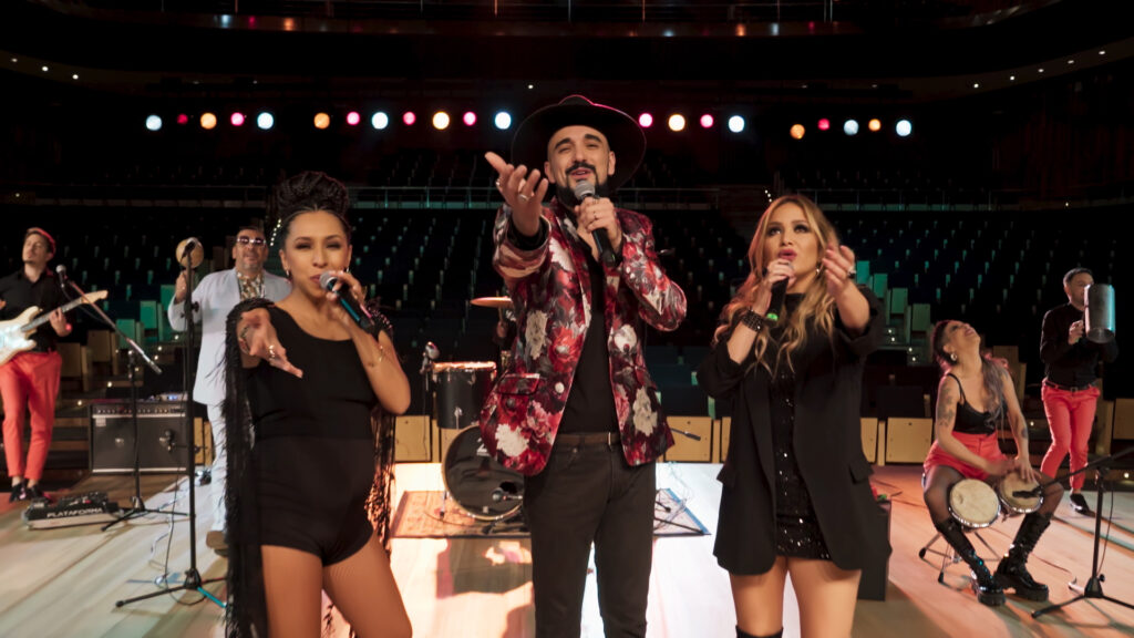 La Delio Valdez, Abel Pintos y Karina